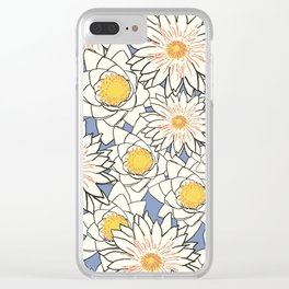 WATER LILIES ART Clear iPhone Case