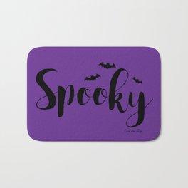 Spooky - Purple Bath Mat