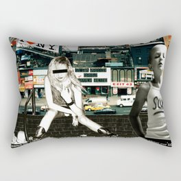 NYC 1995 Rectangular Pillow