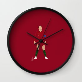 Cristiano Ronaldo - Portugal Wall Clock