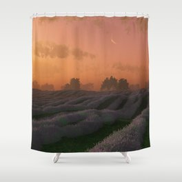 Lavender (Sunset) Shower Curtain