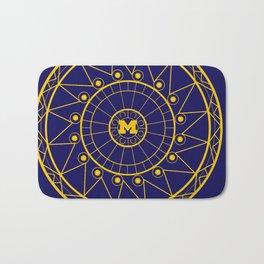 Michigan Mandala Bath Mat