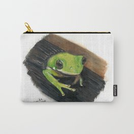 Peekaboo Tree Frog Carry-All Pouch