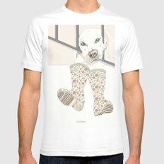 Pipo MEDIUM Mens Fitted Tee White
