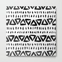 Brush Stroke Metal Print