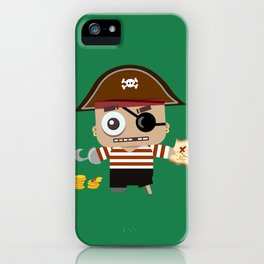 Baby Pirate iPhone Case