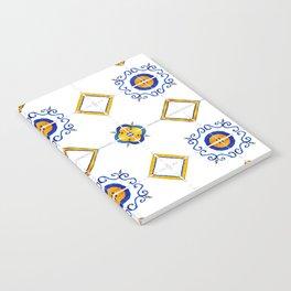 Majolica pattern Notebook