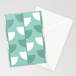 Pastel Green Slices in The Summer Shade Stationery Cards