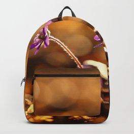 Wonderful Moment In Forest Springtime  Backpack