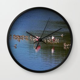 Secret Maneuvers Wall Clock