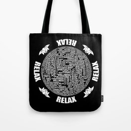 Meditation Yoga Design Tote Bag