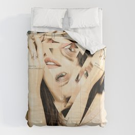 Consume Confusion Disaster Portrait Comforters