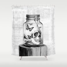 Lost thoughts Shower Curtain