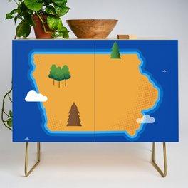 Iowa Island Credenza