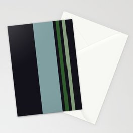 Classic Retro Striped Enenra Stationery Cards