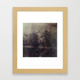 The last Stand -Windmill Framed Art Print