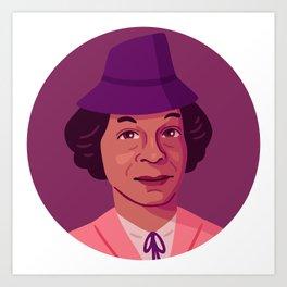 Queer Portrait - Lucy Hicks Anderson Art Print