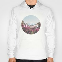 holiday Hoodies featuring Holiday by Laure.B