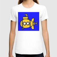 yellow submarine T-shirts featuring Yellow Submarine by Caroline Blicq