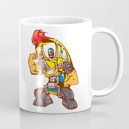 School bus cartoon Coffee Mug
