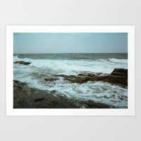 maine Art Prints featuring Maine by RetiredRager