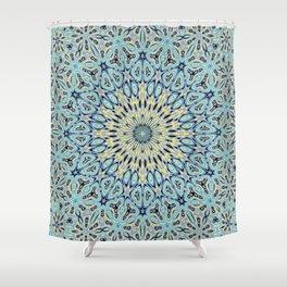 Oriental Kaleido 10A Shower Curtain