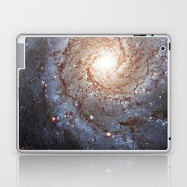 Messier 74,  NGC 628 Spiral galaxy in the constellation Pisces Laptop & iPad Skin