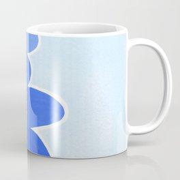 Rock balancing in blue Coffee Mug