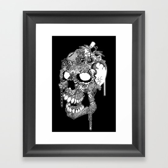 Blight Framed Art Print