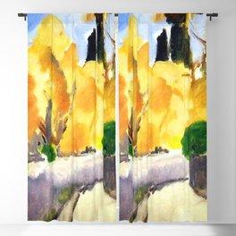 Henri Matisse Autumn Landscape Blackout Curtain