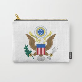 Coat of arms of the USA Carry-All Pouch
