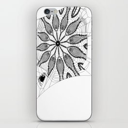 Boho Webs iPhone Skin