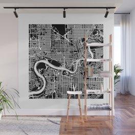 EDMONTON MAP Wall Mural