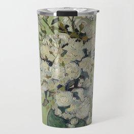 Vase of Roses Travel Mug
