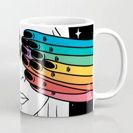Open your eyes in space Coffee Mug