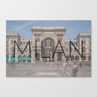 milan Canvas Prints featuring MILAN by Diego Russo Photography