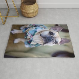 Rufus the Frenchie Rug