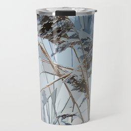 WINTER bulrush Travel Mug