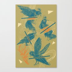 ravens comp Canvas Print