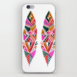 Brooklyn feathers iPhone Skin
