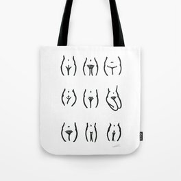 Express Yourself (monochrome) Tote Bag