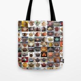 Yixing Teapot Montage Tote Bag