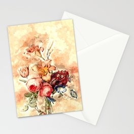 Aesthetic Flowers Stationery Cards