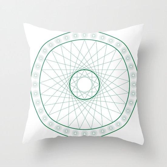 Anime Magic Circle 6 Throw Pillow