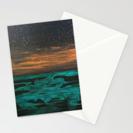 Phosphorescent Plankton Stationery Cards