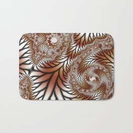 Tree Dance Fractal Bath Mat