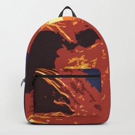 Burning River by FreddiJr Backpack