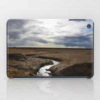 iceland iPad Cases featuring iceland by katie moon