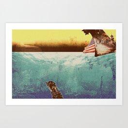 Under Water Art Print