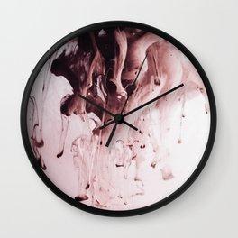 Ink Splashing Wall Clock